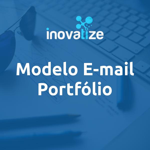 Modelo de E-mail para Portfólio