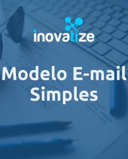 Modelo de e-mail Simples