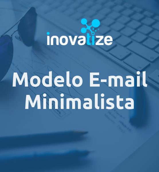 Modelo de e-mail Minimalista