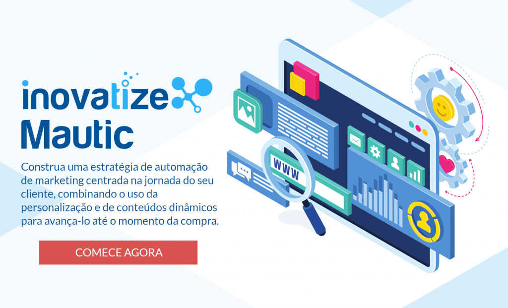 Plataforma Aberta SaaS de Automação de Marketing Inovatize Mautic